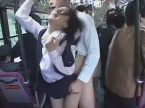 Japanese Girl Violated And Brutally Fucked In Bus Full of People