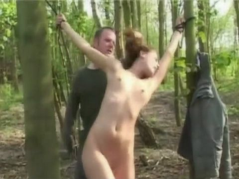 Girl All Alone In The Woods Was Perfect Opporunity For Hunter To Wreak His Anger