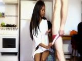 Sweet Ebony Chick First Time Fucked By White Dick