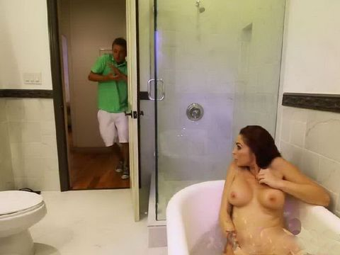 Young Stud Bang Lusty Mom And Hot Stepdaughter