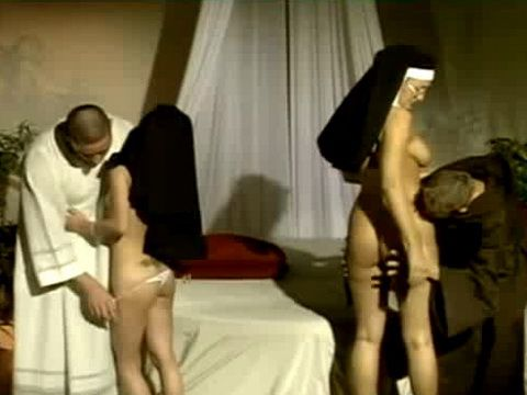 Sinful Nuns Gets Fucked In Ass