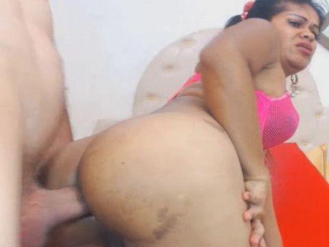 Naughty Couple Tranny Hard Anal Sex