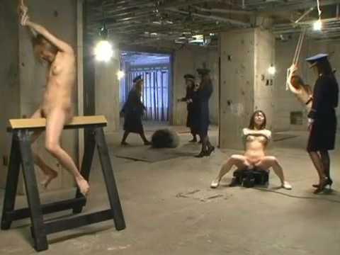 Japanese Policewoman Mistreated Poor Prisoners