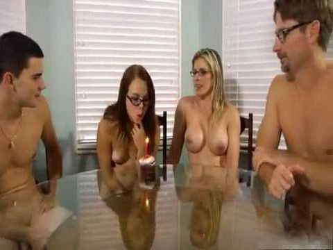 Weird Family Getting Around Naked For Daugther Birthday