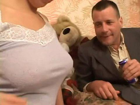 Teens Big Tits Provoke Horny Man To Do Insane Thing
