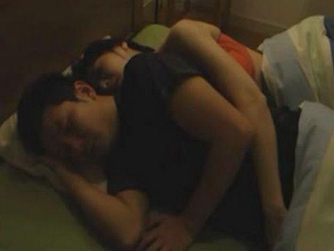 Stepmom Hitomi Ohashi Abuse Her Sleeping Teenage Stepson