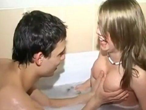 Nasty Couple Making Sextape for Money
