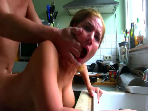 Hot Russian Girl Fucked In The Kitchen