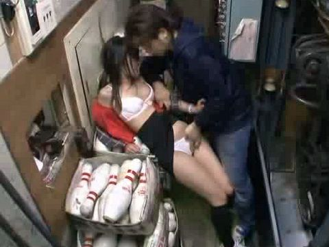 Poor Japanese Girl Gets Swooped And Fucked In Bowling Center Against Her Will