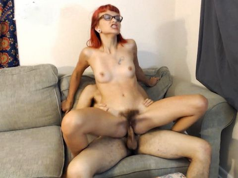 Skinny Short Hair Redhead MOM Teaching Step NOTSon