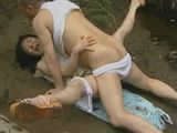 Japanese Village Woman Fucked By River