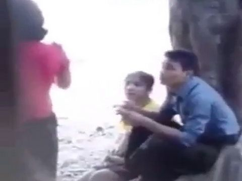 Amateur Asian Teen Girl Busted By Mother While Riding Bfs Dick Outdoor