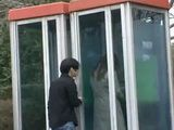 Japanese Woman Molested At A Phone Booth