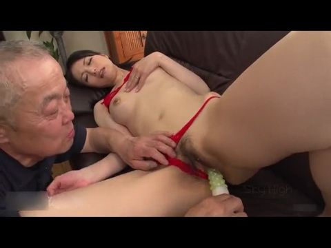 Old Mouthwatering Grandpa Use Bad Way Sons Sexy Wife