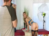 Photoshooting For Erotic Magazine Turn Into Sex Session