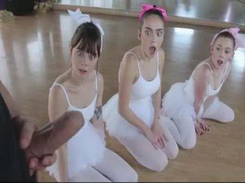 Shocked Ballerinas Did Not Even Dream That This Training Would Pass Like This