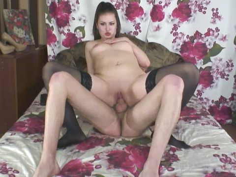 Hottie Model Receive A Facial After A Multiple Position Sex