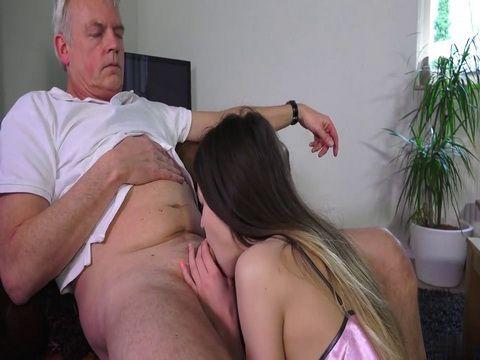 Old Fart Fuck Hard Teen Stepdaughter
