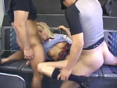 Lexie Belle and Carla Cox Groped and Banged By Japanese Guy On a Bus