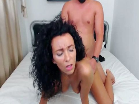 Brunette Get Fuck On Mouth and Pussy And Get Facial