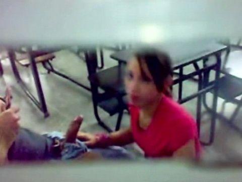 Amateur Schoolgirl Busted Sucking Classmates Cock On Hidden Cam