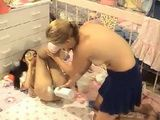 Diapering Adult Baby Girl