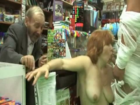 Russian Matures Fuck In A Store