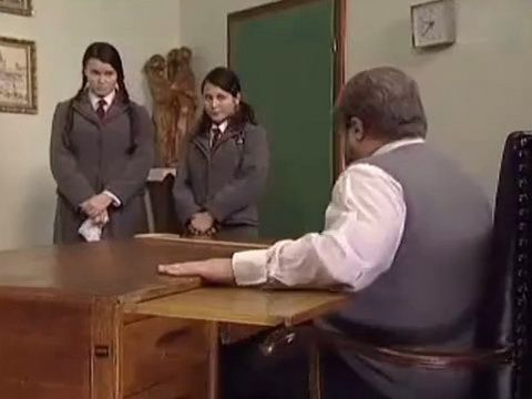 Teachers Exam Meeting Spanking