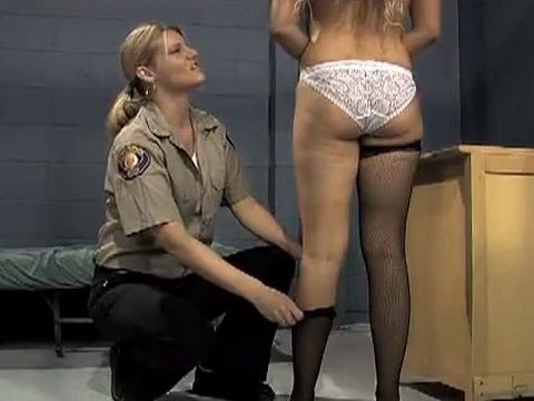 Prison Guard Punishes Girls in Jail