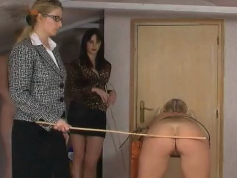 Lesbian Mistress Brutally Punish Submissive Bitch
