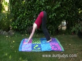 Milf Inara Byrne in Outdoor Yoga Session xLx