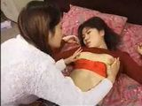 Japanese Lesbians Sex With Dildo and Strapon