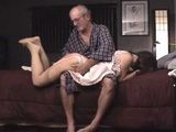The Granddaughter Spanking and Fingering by Grandpa