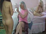Lesbian Lovers Spanked xLx