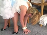 Karen's Good Little Girl Spanked and Diapered (1-2) xLx