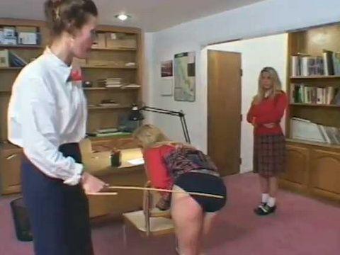 Female Teacher Spanking Two Blondes Schoolgirls
