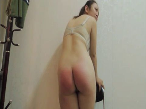 Spanking and Figging Chinese Girl