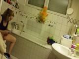 Hidden Cam Spy Step Mother in Bathroom xLx