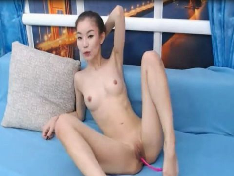 Asian Beauty Bares Slim And Sexy Body