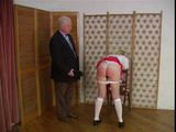 Schoolgirl Spanked and Caned