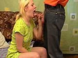 Russian Teen Toyed and Fucked