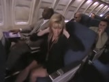 Lesbians on the Airplane Strapon Sex xLx