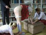 Schoolgirls Spanked And Caned