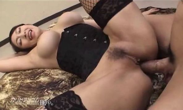 Japanese MILF Hard Anal Sex Toys and Creampie