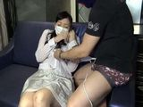 Japanese Mature Hairy Fucks Blowjob and Creampie