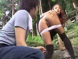 Japanese Young Girl Anal Outdoor