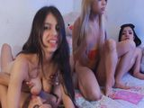Cute Babes Do a Naughty Foursome