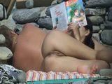 Nude Couple on the Beach