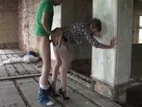 British Milf Lady Sonia Fuck In Abandoned Building