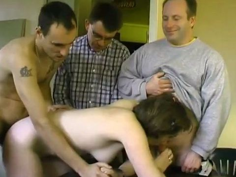 Teen Gets All Holes Fucked in the Pool Room